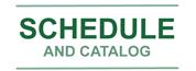 Schedule Catalog