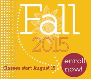 Classes start August 15