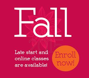Late start and online classes are available!