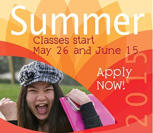Apply now for summer