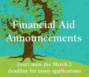 Financial Aid Announcements