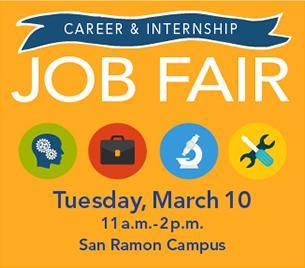 Job Fair at DVC - San Ramon Campus