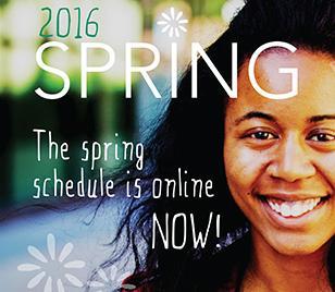 Class schedule online