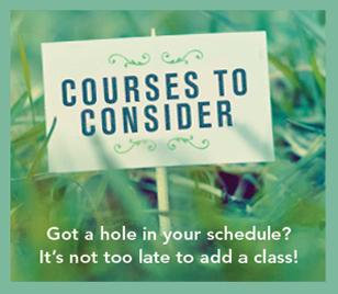 Courses to Consider