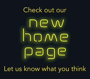 Check out our new home page
