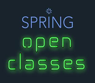 Spring 2016 open classes