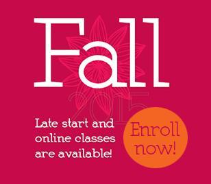Late start and online classes are available