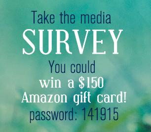 Participate in this online surveyand be entered into a drawingto win.