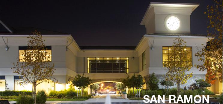 DVC San Ramon Campus at night banner