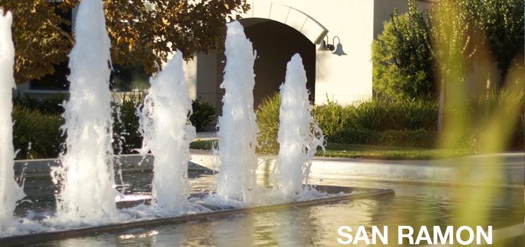 Fountain banner