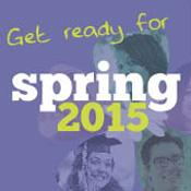 Get ready for spring 2015