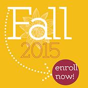 Enroll Now Fall 2015