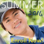 Summer 2016 classes