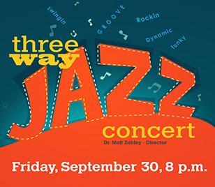 Three Way Jazz Concert