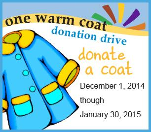 One Warm Coat Donation Drive