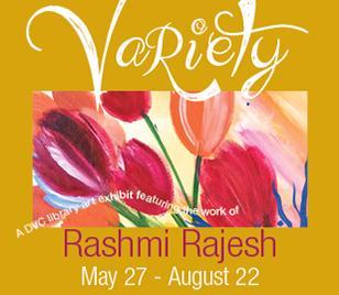 Library Exhibit: Variety by Rashmi Rajesh