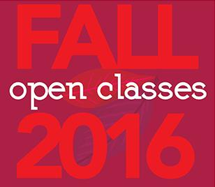 Fall open classes