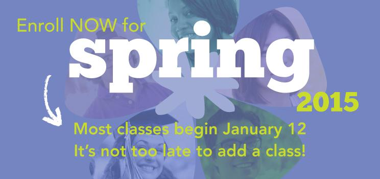 Spring 2015 classes still available