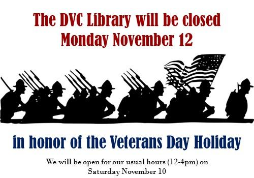 Veteran's Day Holiday