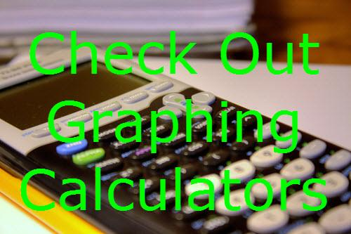 Check out graphing calculators!