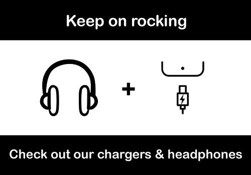 Keep on rocking. Check out our chargers & headphones