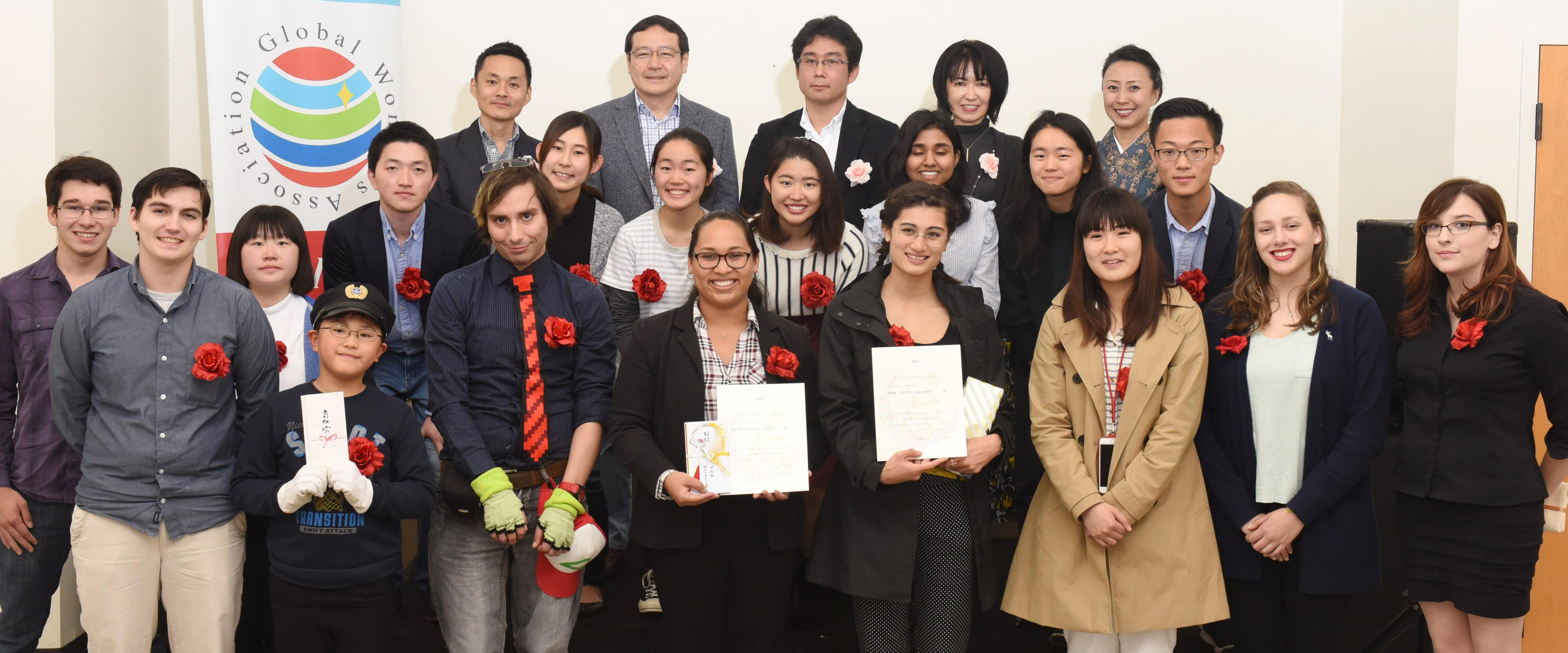 Congratulations to DVC students for their achievements in the Japanese speech contest hosted by Global Women's Association.