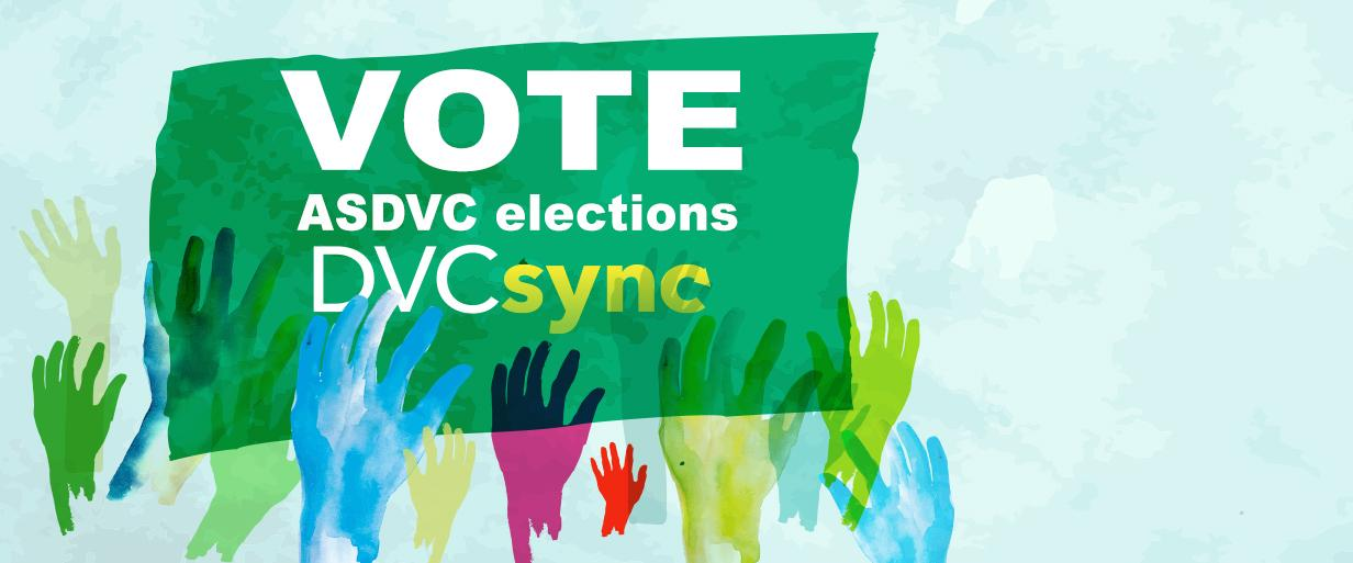Be sure to cast your vote on April 16-20, 2018
