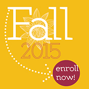 Fall 2015 enroll now