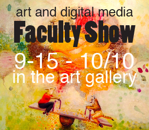 Art and Digital Media Faculty Show