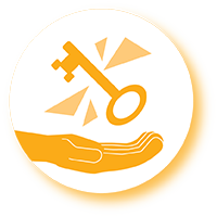 Solution mindset icon