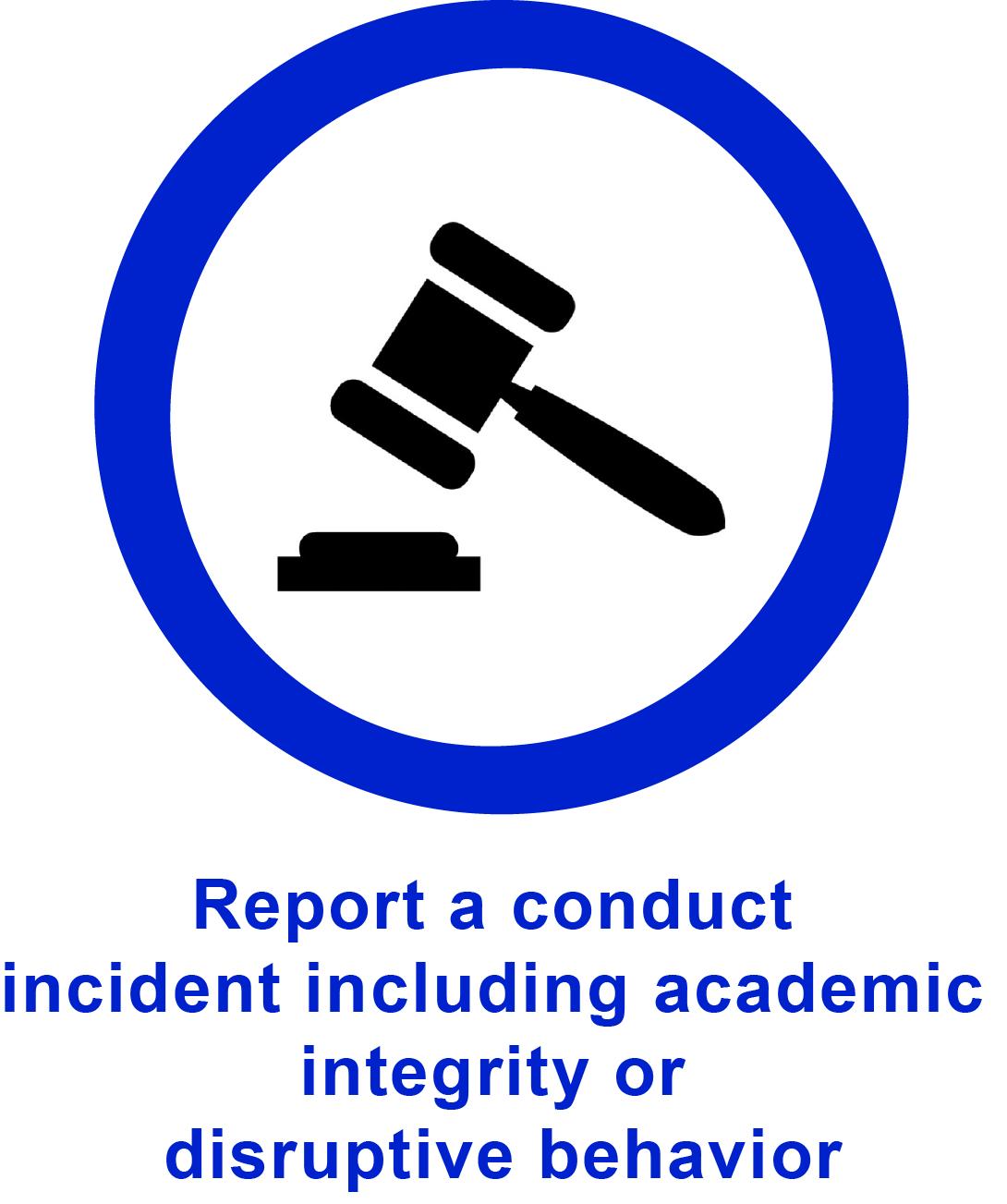 CARE report button