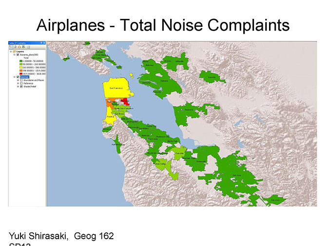 airplane noise complaints