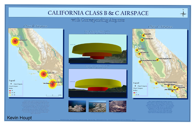 ca class b and c airspace