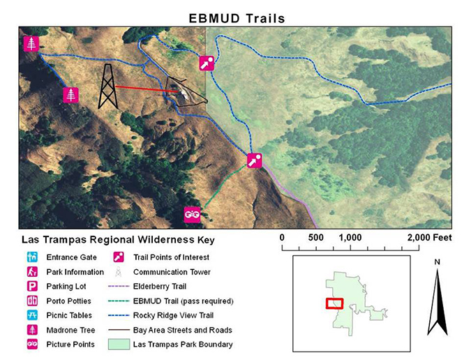 EBMUD trails - student project