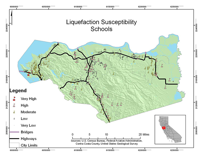 liquefaction - schools - student project