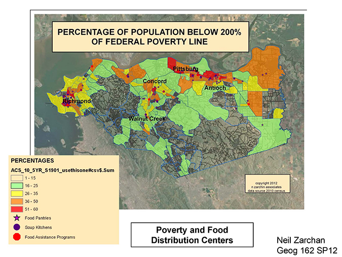 below 200 percent poverty level