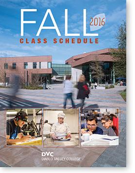 Fall 16 schedule