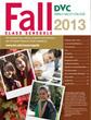 fall schedule 2013