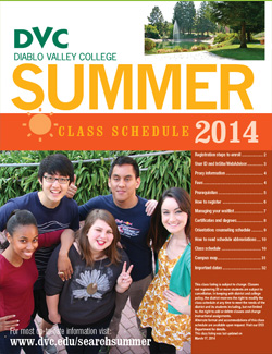 summer schedule 2014