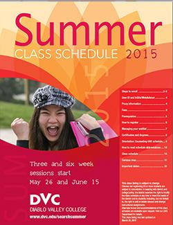 summer schedule 2015