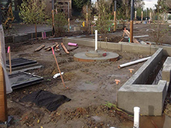 commons construction-water feature 12-12-14