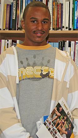Kevins Griffin, U C Davis transfer student