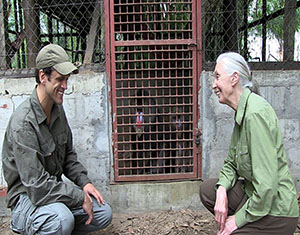 miles woodruff and jane goodall