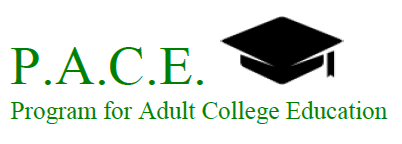 PACE - Program for Adult College Edcuation (logo)