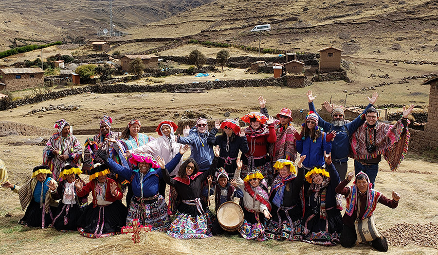 DVC Study Away students in Peru