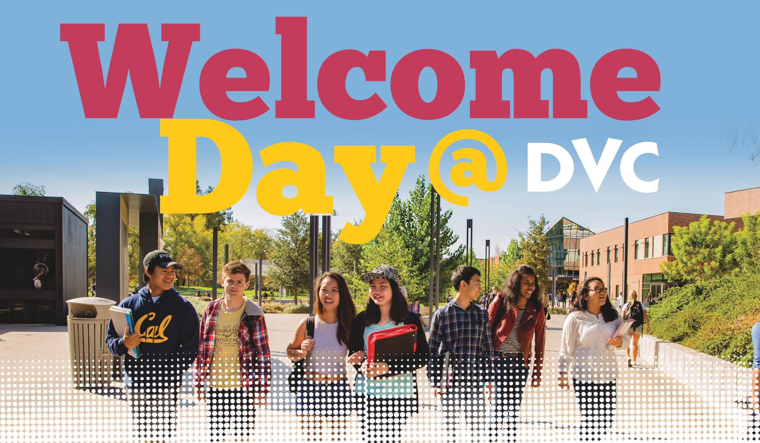Welcome Day 2016 Banner