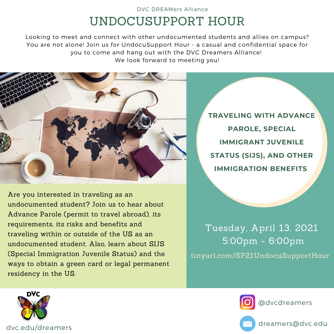 April 13, 2021 Undocu Support Flyer